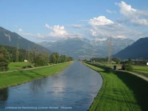 Linthkanal Reichenburg