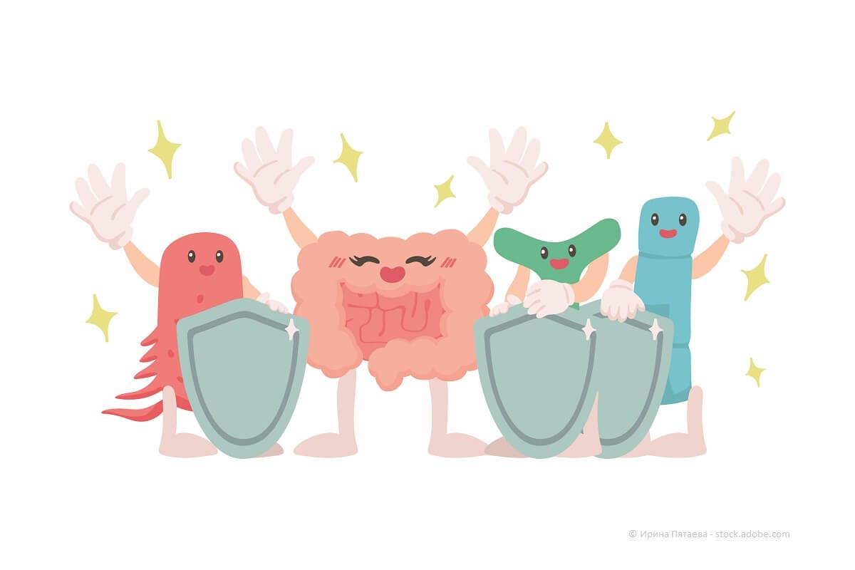 Darmaufbaukur, Darmaufbau, Darmsanierung: Förderung durch gute Bakterien