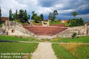 Augusta Raurica - römische Theater in Augst - Kaiseraugst