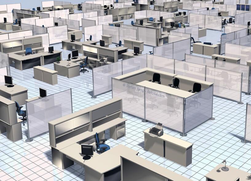 Büroeinrichtungen in der Schweiz heute – Grossraum als Ziel