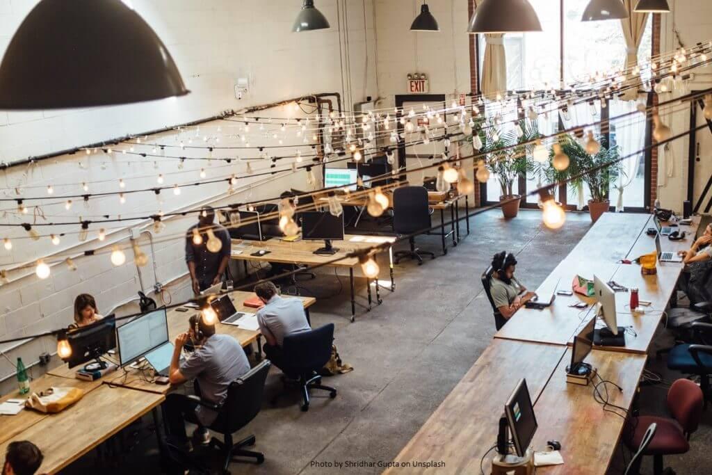 Büroeinrichtungen der Zukunft