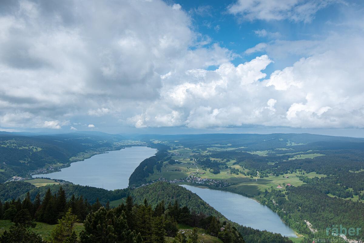 Lac de Joux und Lac Brenet: wunderschöne Seen im Kanton Waadt