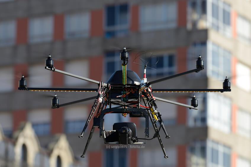Luftaufnahmen mit der Drohne, ein Gewinn für den Schweizer Tourismus