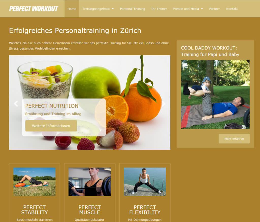 Perfectworkout.ch: Fitness- und Personaltrainer in Zürich