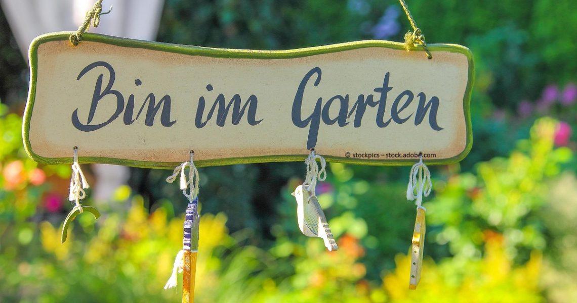 Garten: Gartenbau ist investment mit einem Return of Investment