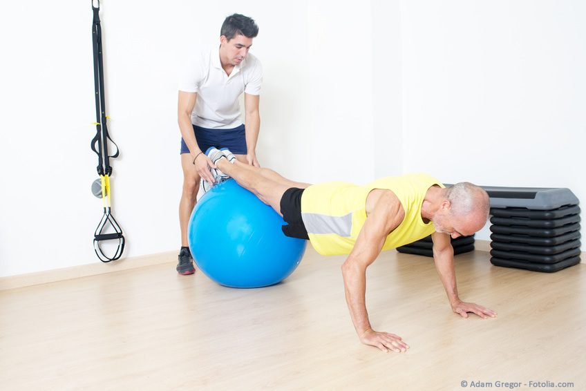 Gesundheit und Fitness dank Personaltraining aufbauen.