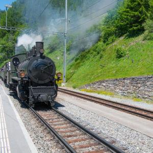 Historische Zugsfahrt