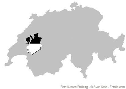 Der Kanton Freiburg