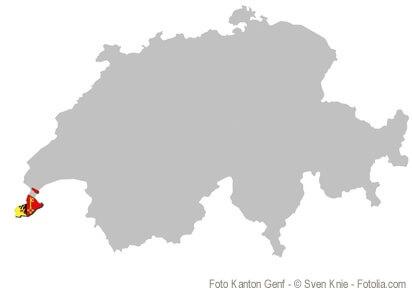 Der Kanton Genf: International und der grösste See in Europa