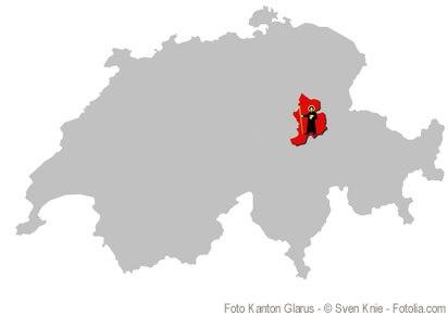 Der Kanton Glarus: milden Temperaturen und mediterraner Flora