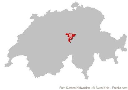 Kanton Nidwalden, Urkanton und im Zentrum der Schweiz