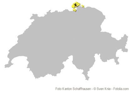 Der Kanton Schaffhausen ist der nördlichste Kanton der Schweiz.