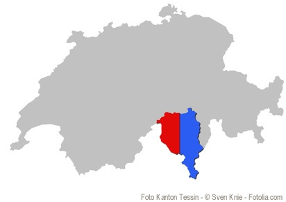 Der Kanton Tessin, die Sonnenstube der Schweiz