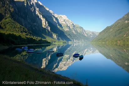 Klöntalersee Kanton Glarus