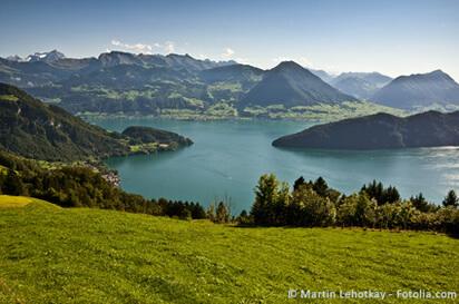 Kanton Nidwalden - Blick auf den Vierwaldstättersee