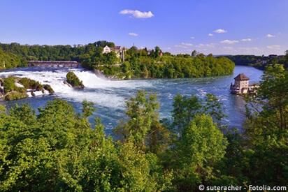 Der Rheinfall ist der grösste Wasserfall Europas