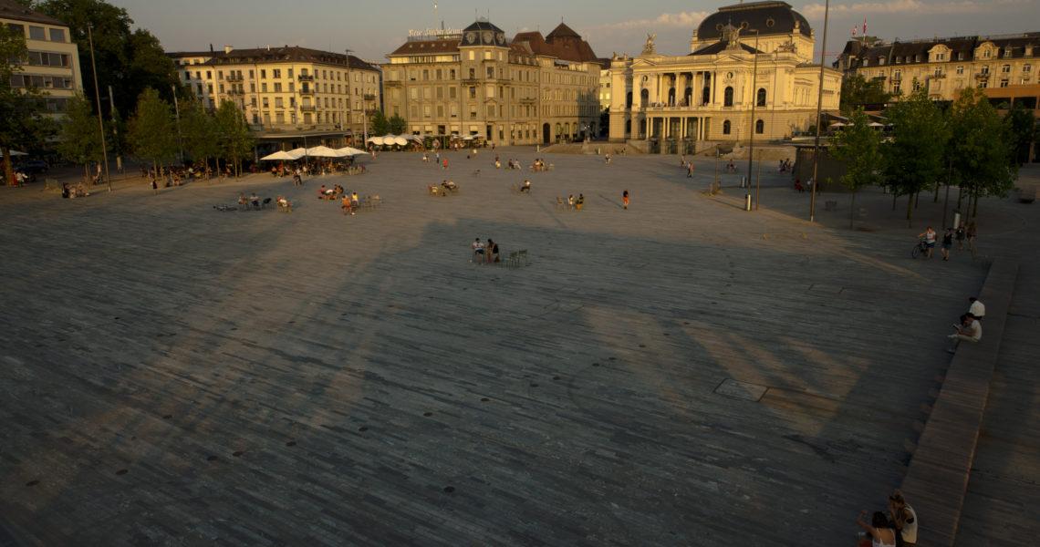 Zürich am Puls vom leben.