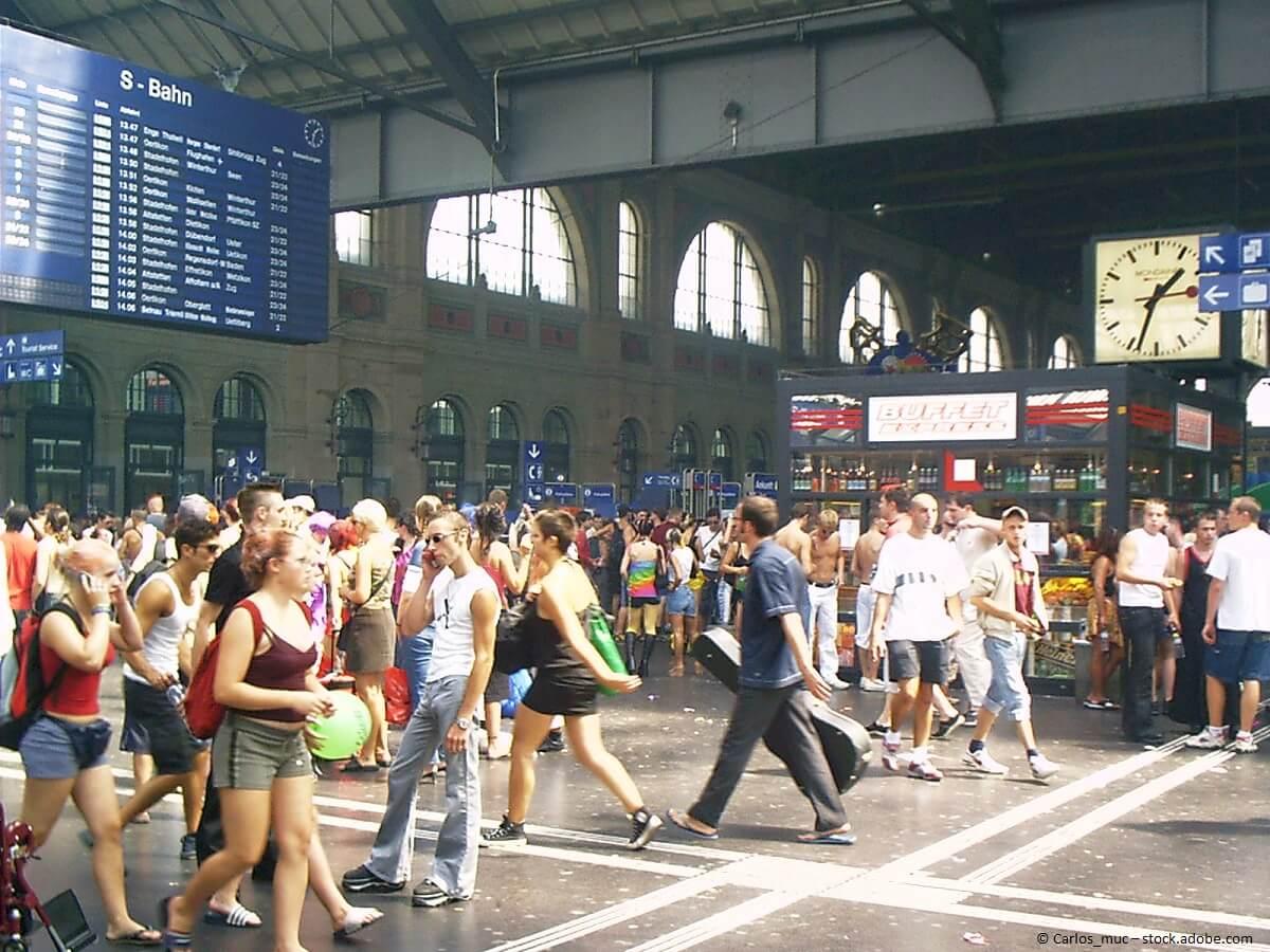Zürich lebt - Bahnhof Zürich