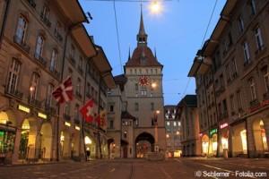 Der Zytglogge-Turm in Bern